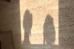 le ombre cinesi di Wody della Bassana e Dolfo della Bassana :: da Verona
